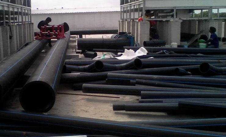 ท่อ HDPE กับระบบประปา