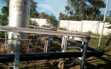 งานเดินท่อ HDPE